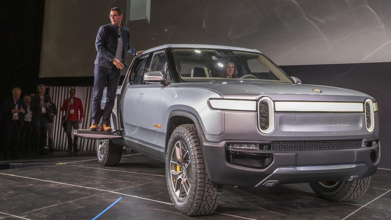 Electric truck startup Rivian receives $700 million investment led by Amazon