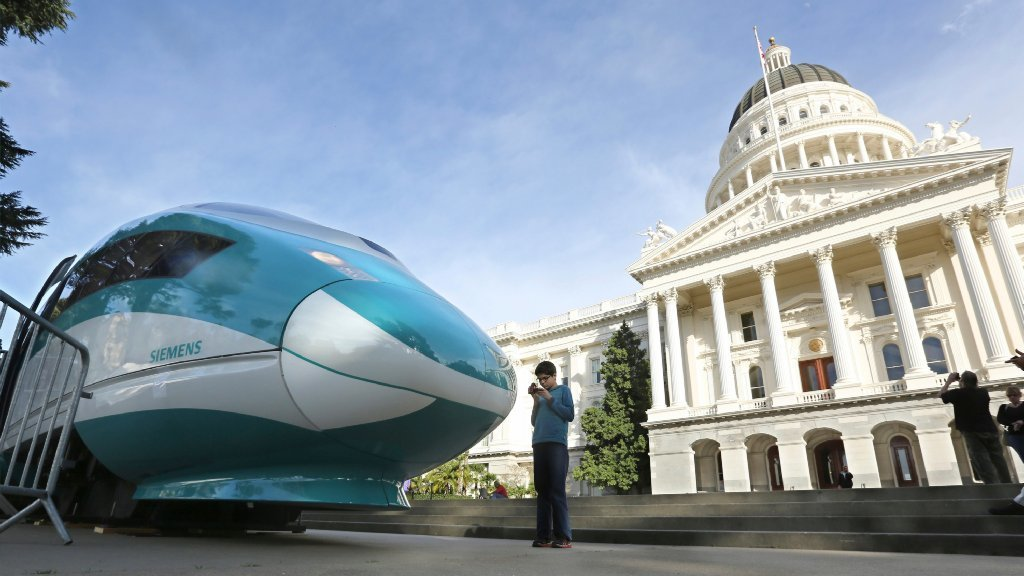 Why California's bullet train should not stall
