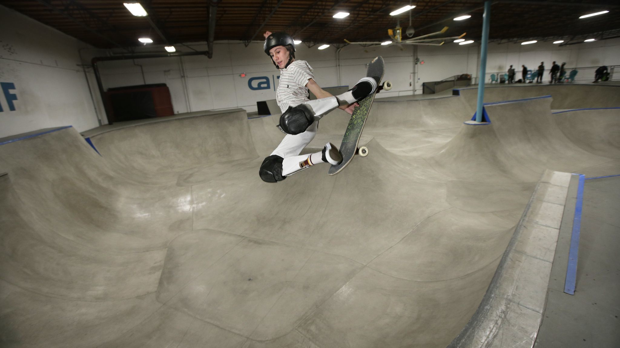 Path to Olympic gold runs through Vista for skateboarding's best