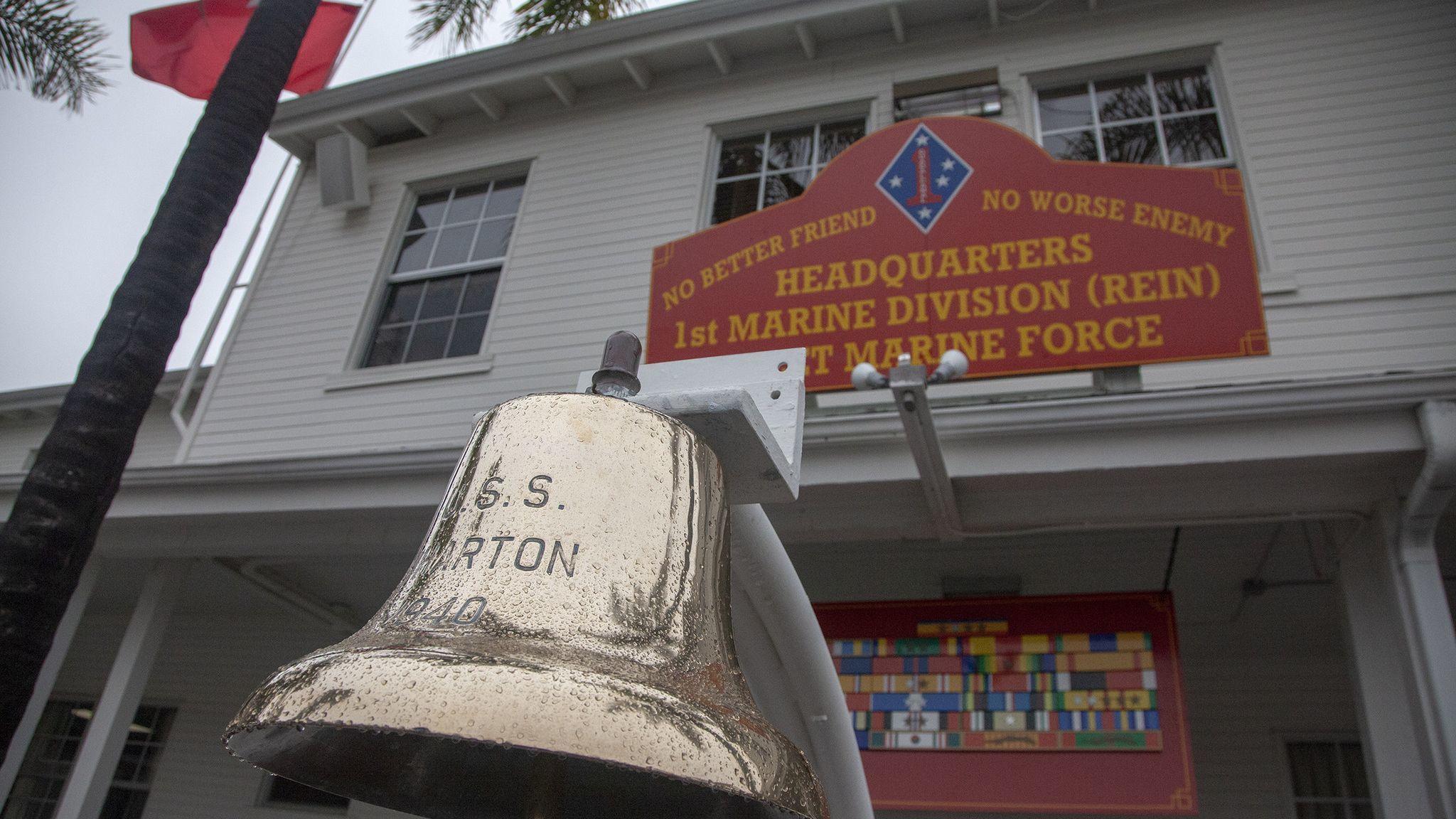 Marine division's historic headquarters has uncertain future