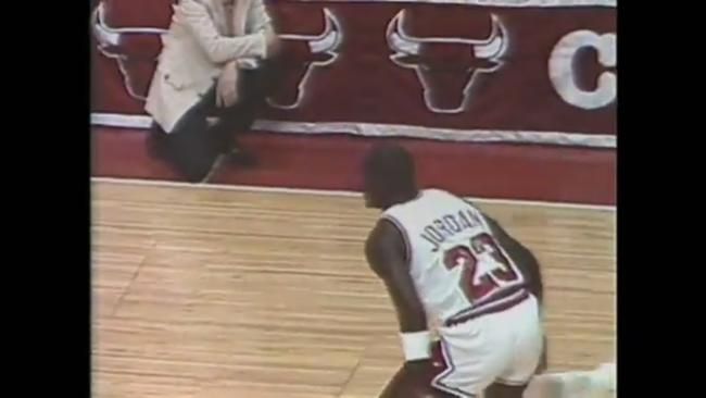 newest a6b24 964d7 Michael Jordan NBA debut with the 1984 Chicago Bulls   ESPN Archives