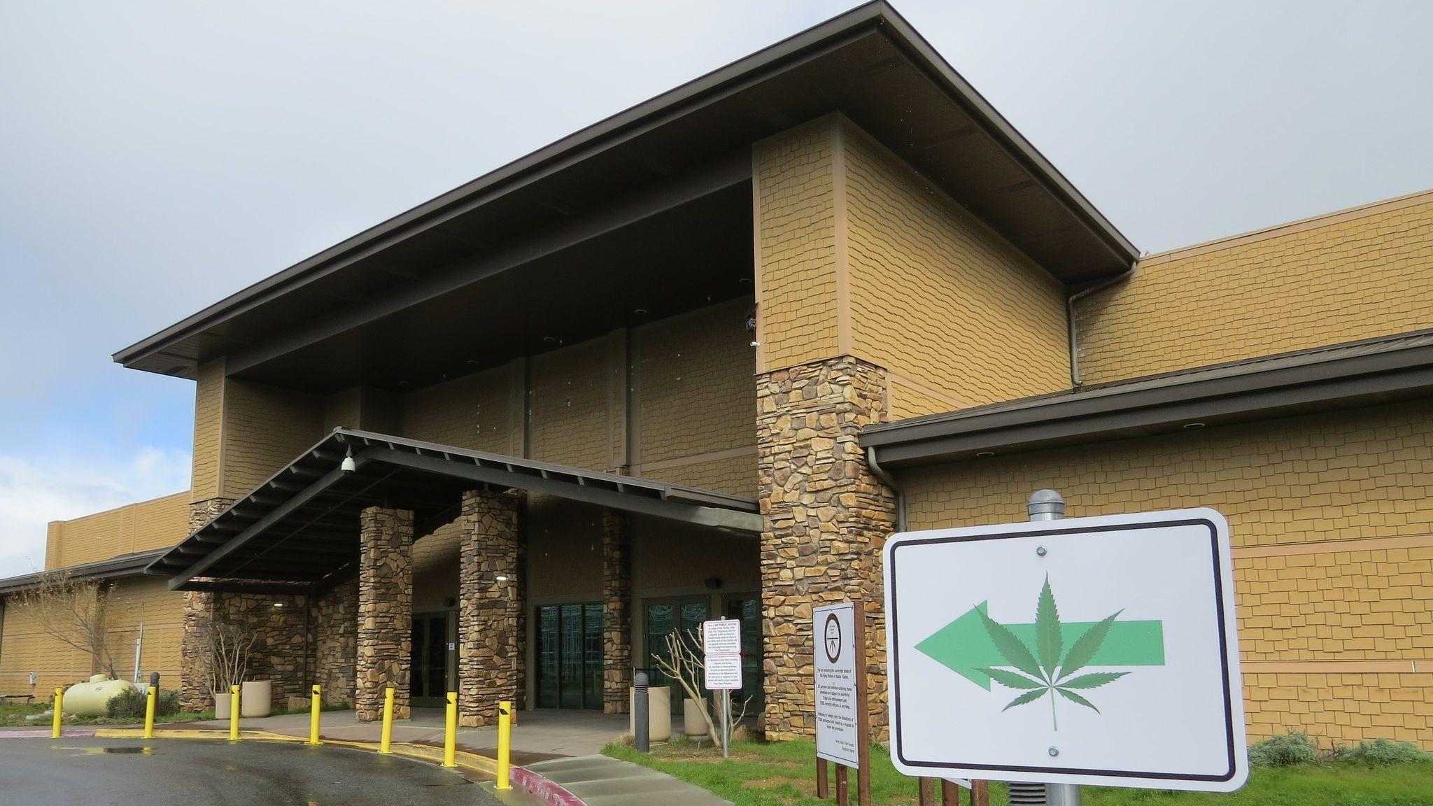 Tribe dips toes into pot trade with dispensary at former Santa Ysabel casino