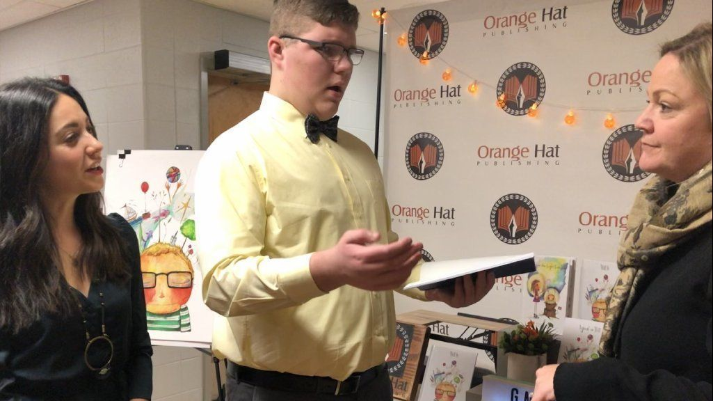 Local talent honored at Antioch High book launch