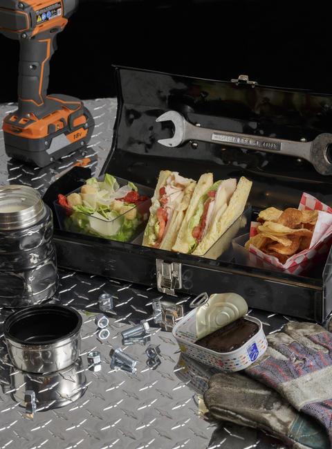 The lunchbox atBarton G. The Restaurant Chicago.