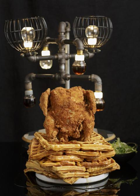 Sweet chicken atBarton G.The Restaurant Chicago