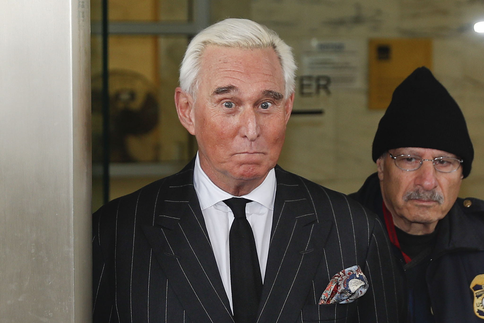 Judge orders Roger Stone to court over Instagram post portraying judge with what appeared to be crosshairs of a gun