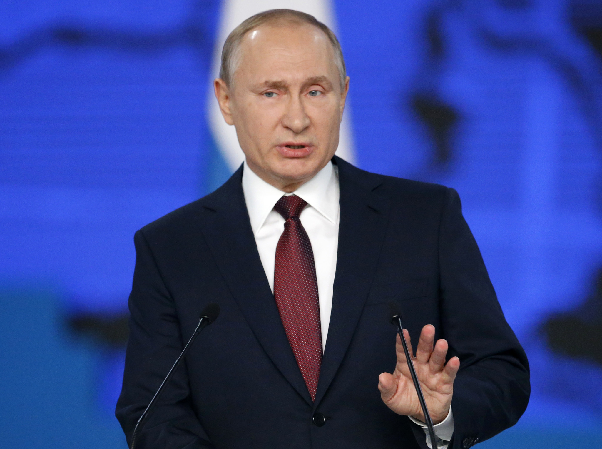 Putin warns new weapons will target U.S. if missiles are deployed in Europe