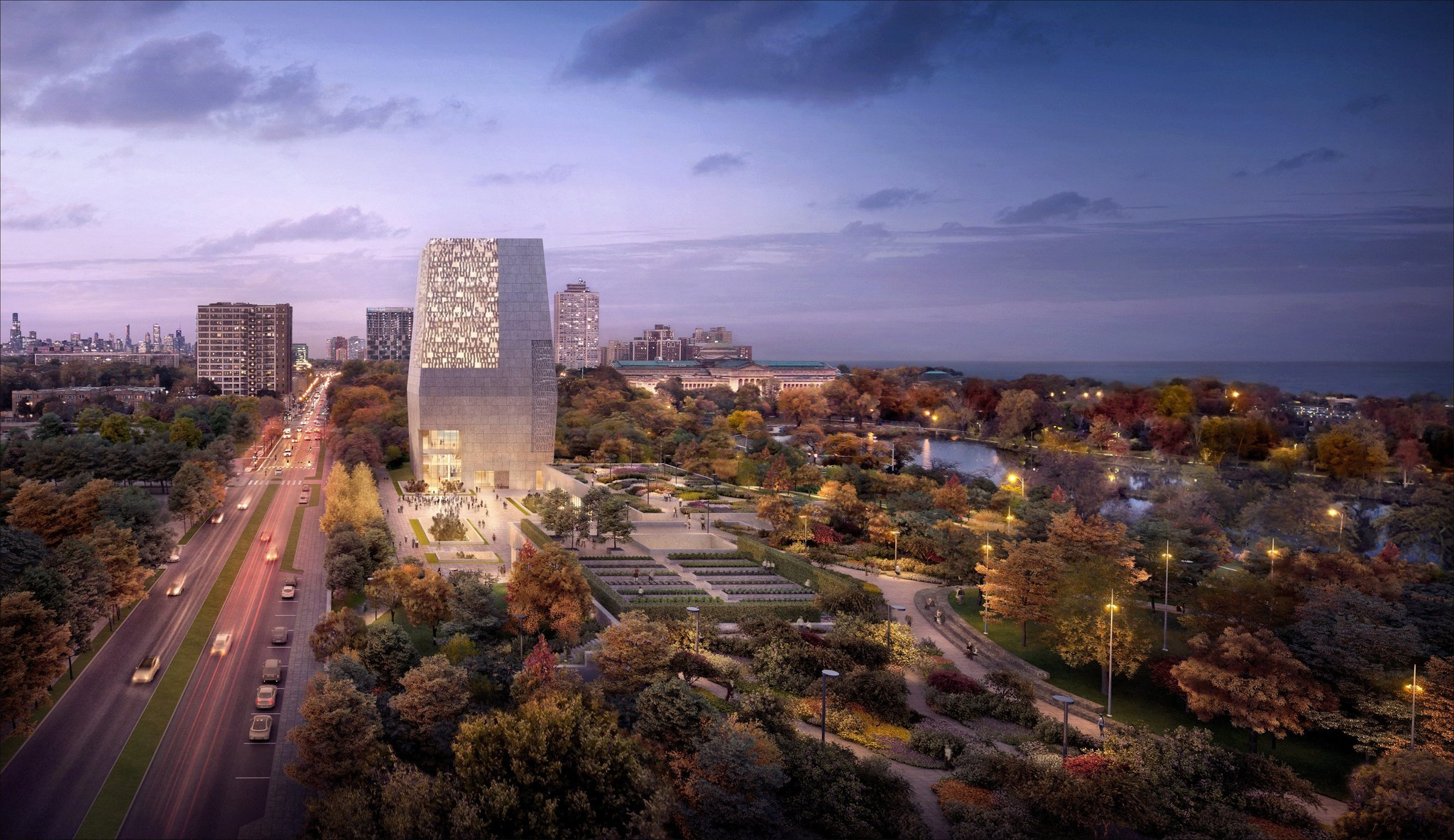 'No Drama Obama' is in a legal box of his own making, but the plans for his Jackson Park presidential center remain alive