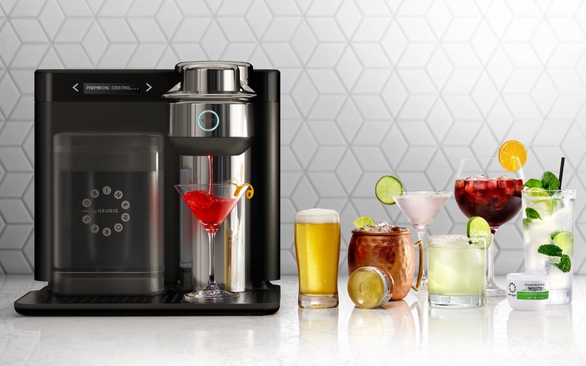 New Keurig for cocktails coming to a store near you