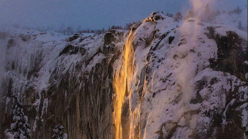 'Firefall' returns to Yosemite, and it's a spectacular sight