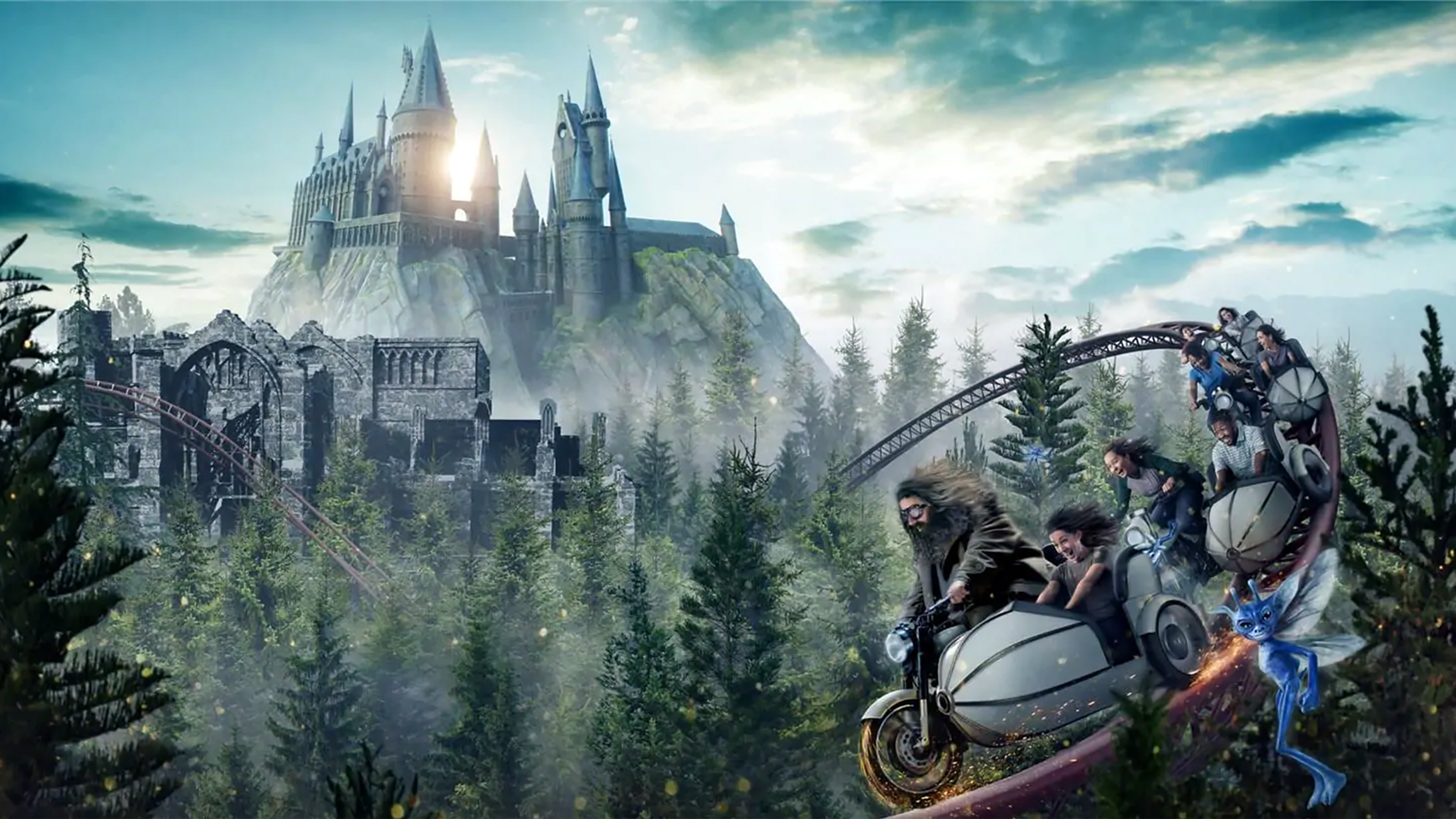 Universal Orlando Resort names new Harry Potter attraction