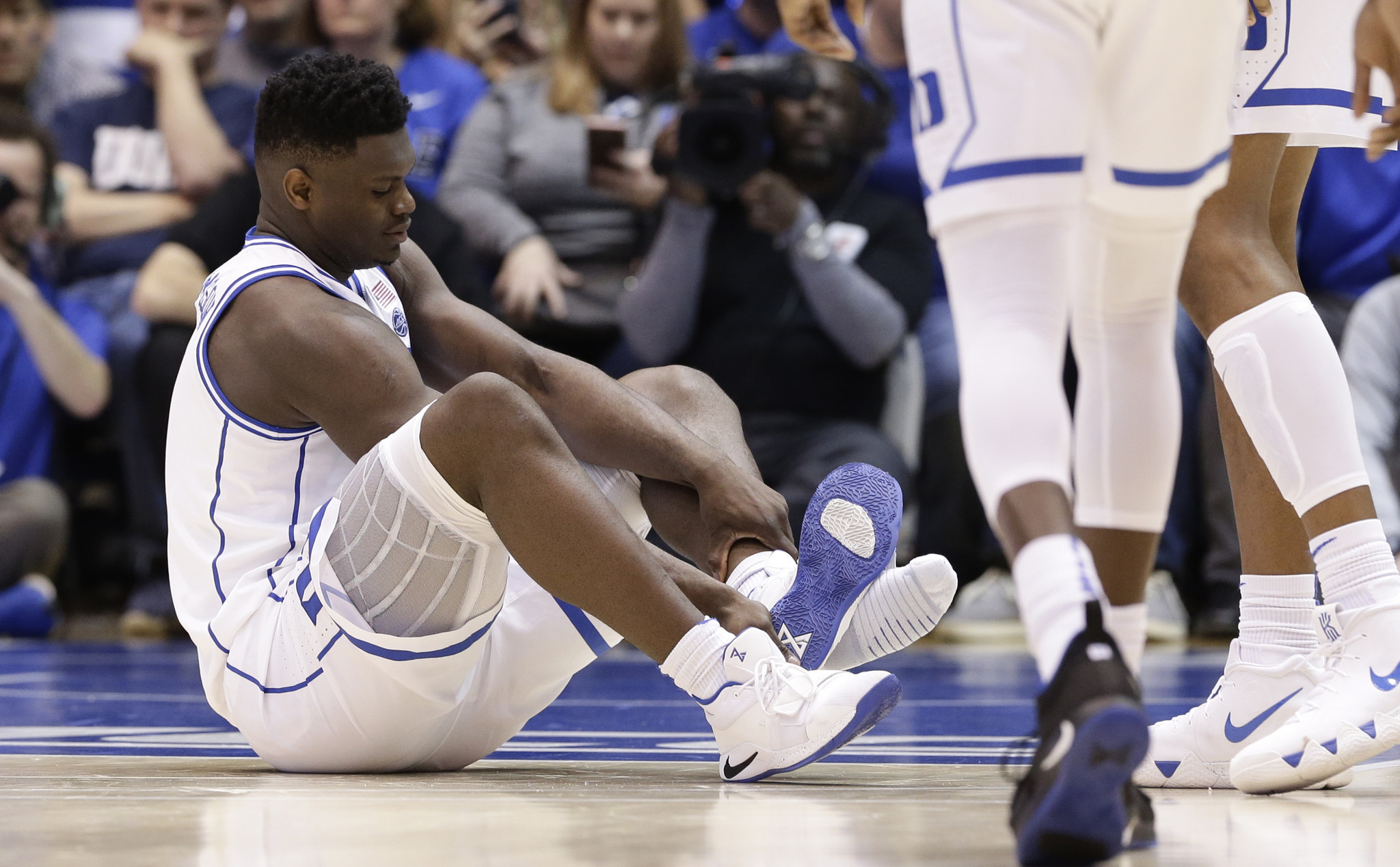 NCAA needs to rethink amateurism because the next Zion Williamson was watching
