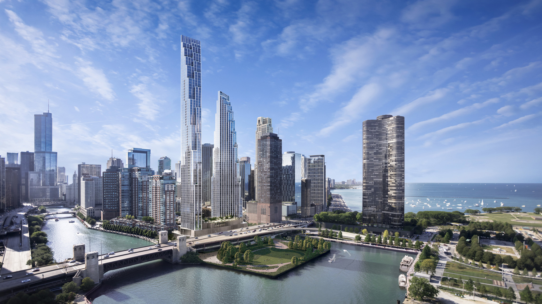 Developer of former Chicago Spire site gets more time to revise plans, after proposal for two skyscrapers was rejected