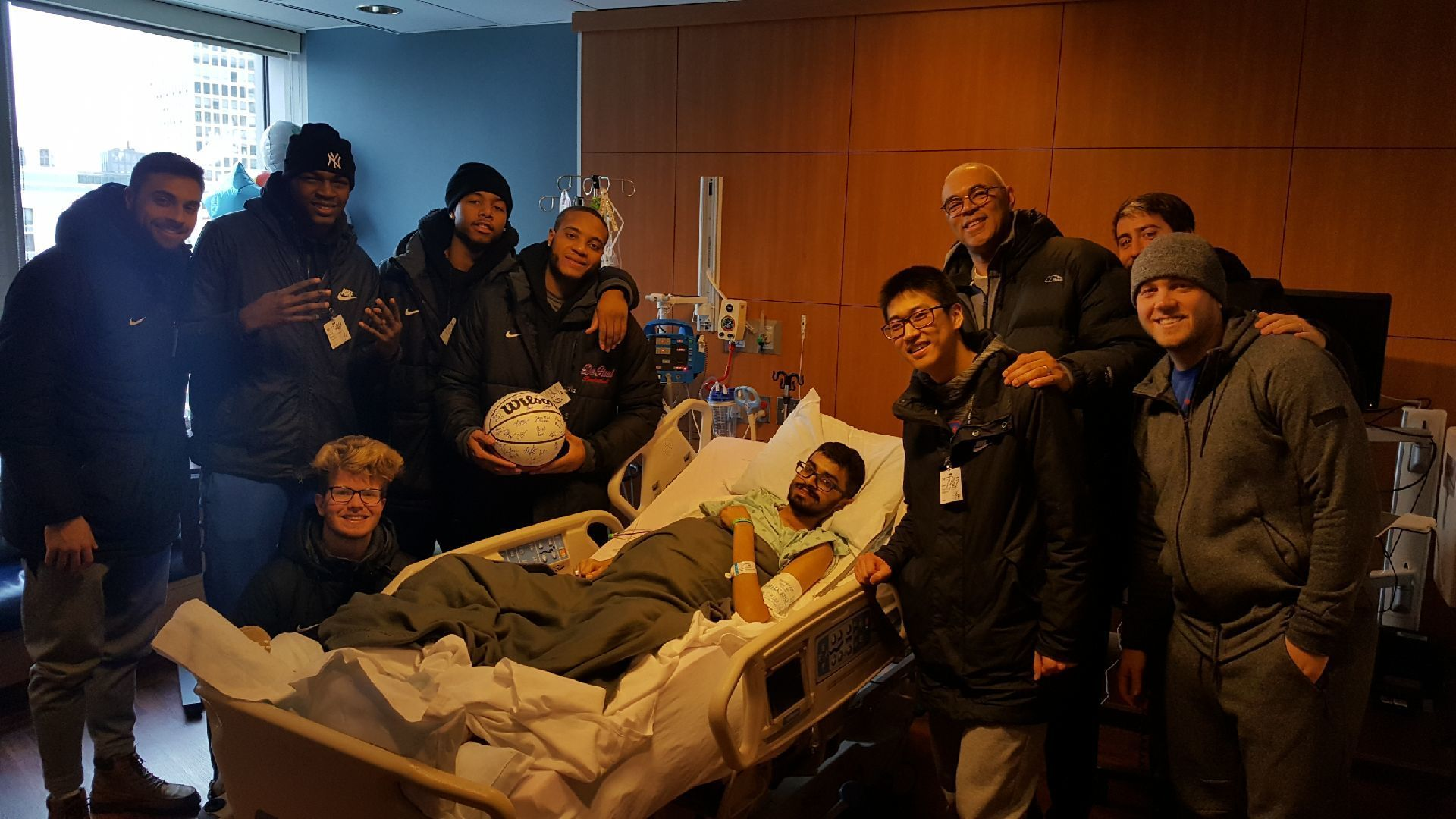 DePaul basketball rallies around their 20-year-old student manager who is battling cancer: 'Aameer is getting what he put out'
