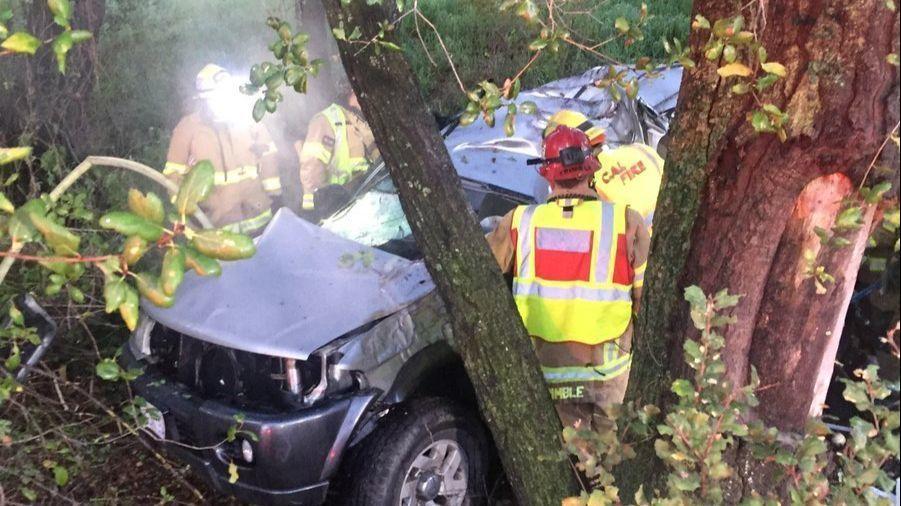 Driver dies in crash off SR-67 near Ramona