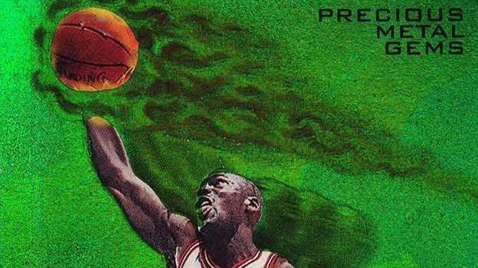 2870ae33e  Holy grail  Michael Jordan card sells for  350