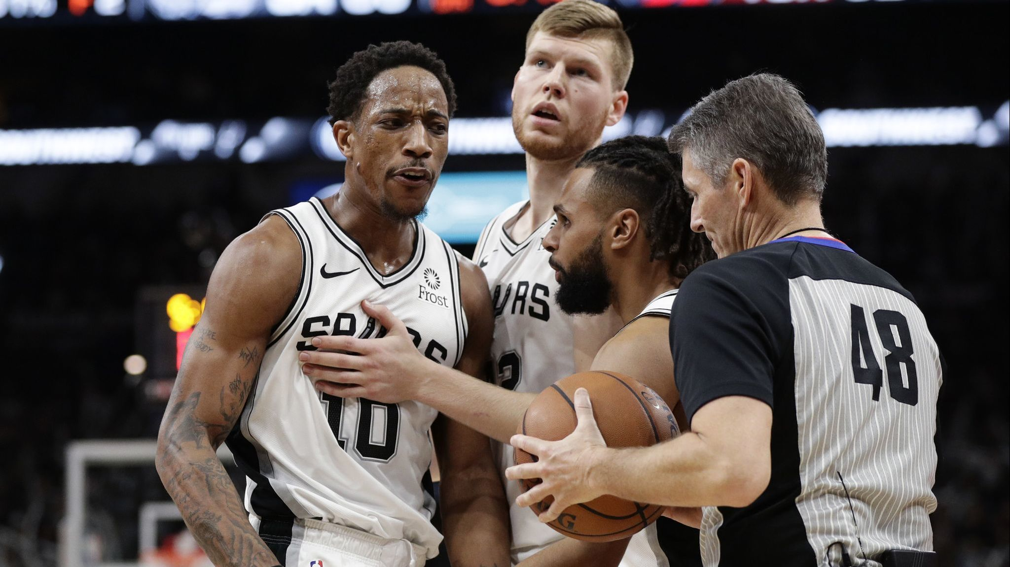 NBA Fastbreak: Bad news when a referee becomes the story of the week