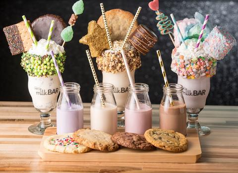 Girl Scout, Gold Digger and Wonder Years milkshakes atJoJo's Milk Bar, 23 W. Hubbard St. in River North in Chicago.