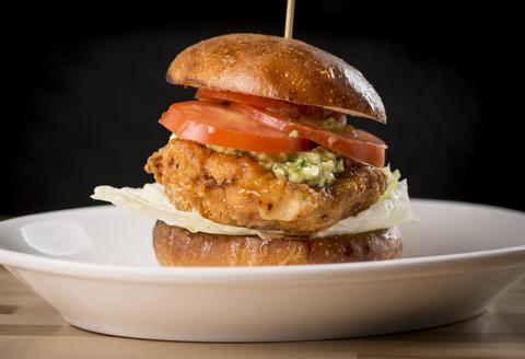 Honey Fried Chicken sandwich atJoJo's Milk Bar, 23 W. Hubbard St. in River North in Chicago.