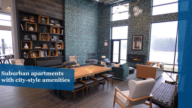 Suburban Apartments With City Style Amenities