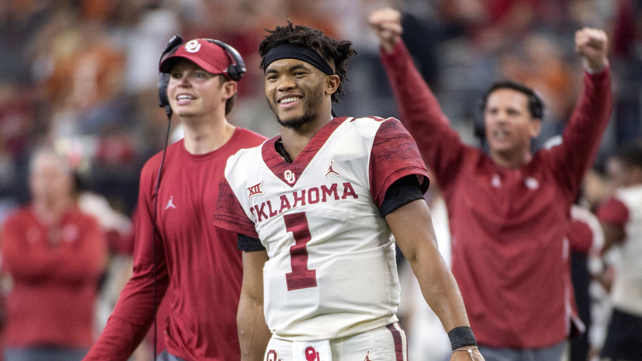 In short order, Kyler Murray could be the quarterback prize of the NFL draft