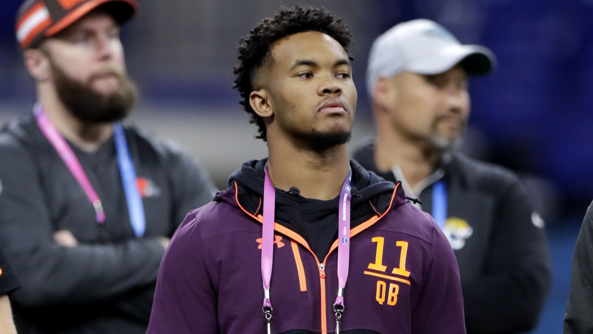 NFL mock draft: Look for Raiders to move up to No. 1 to select QB Kyler Murray