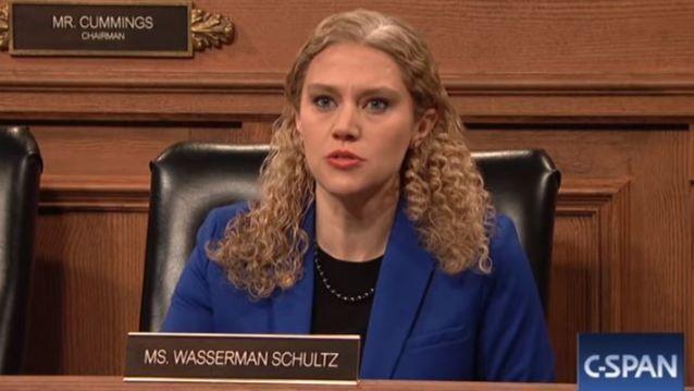 Debbie Wasserman Schultz was back on SNL again (sort of)