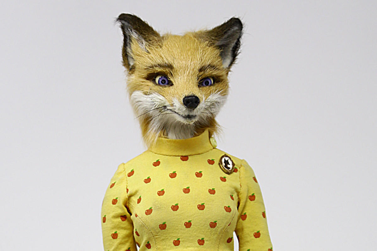 'Fantastic Mr. Fox' puppet