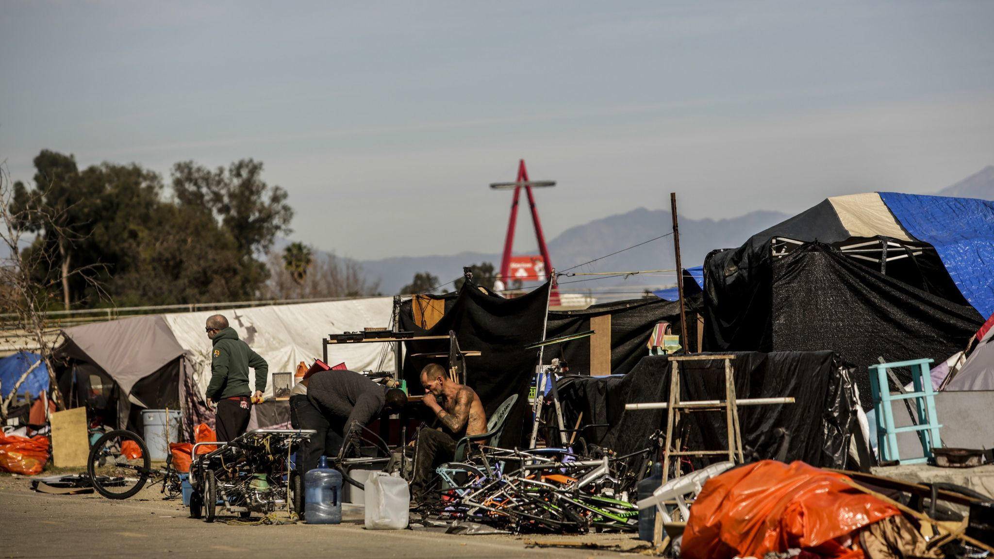 Costa Mesa settles lawsuit over homeless along Santa Ana River