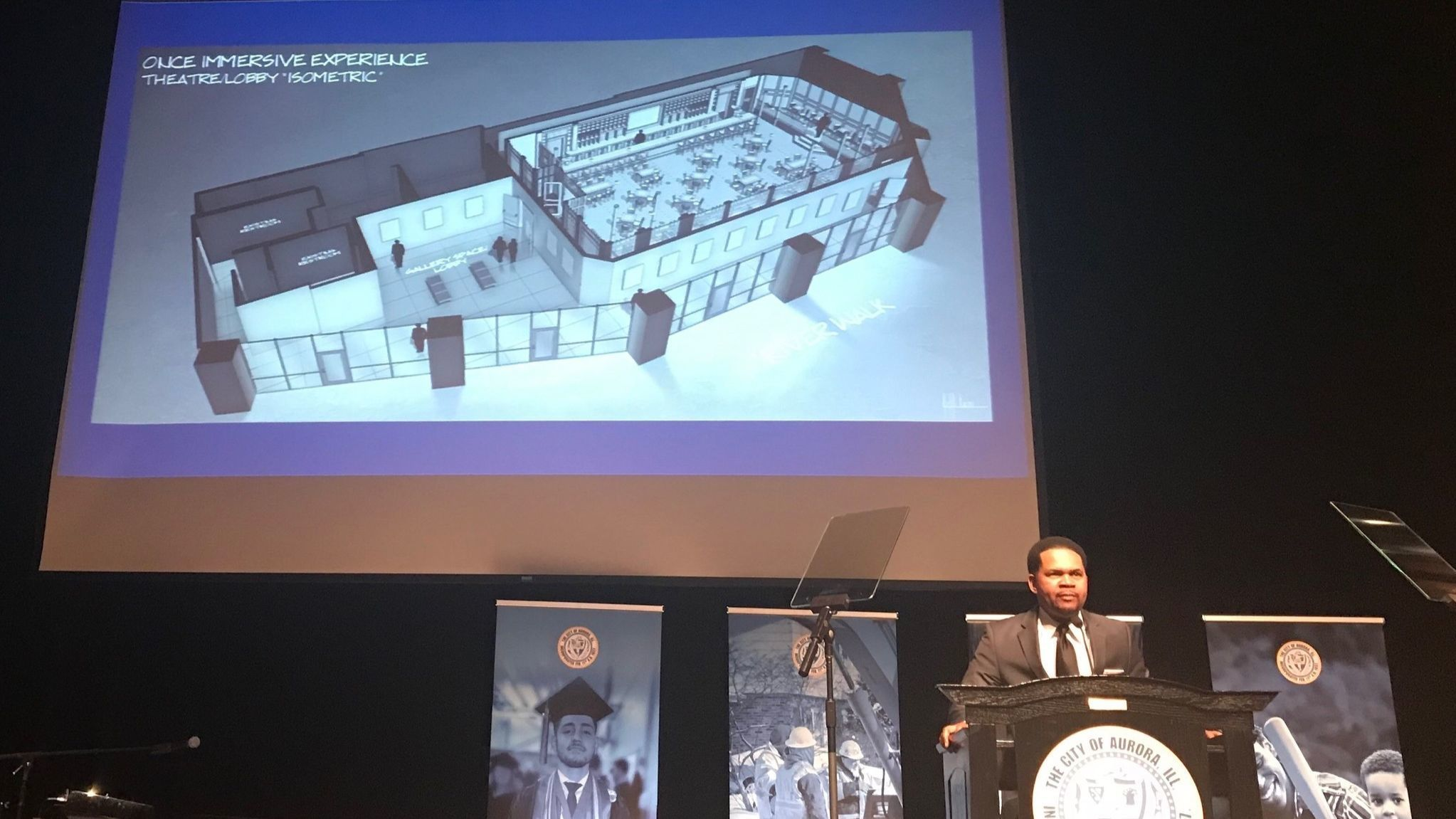 Downtown Aurora 'theater district' moving closer to reality