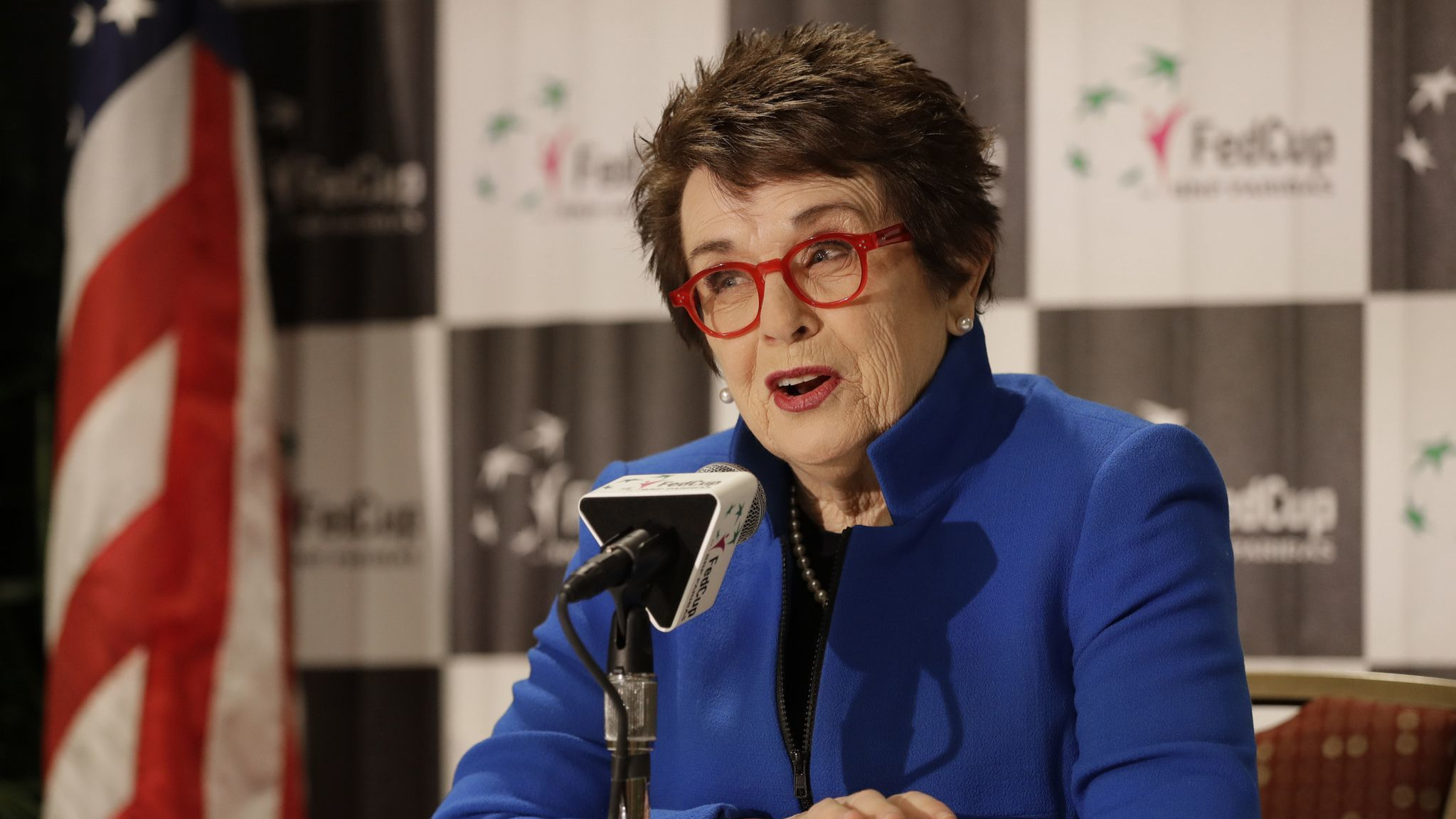 Billie Jean King is hoping World Team Tennis will continue to grow