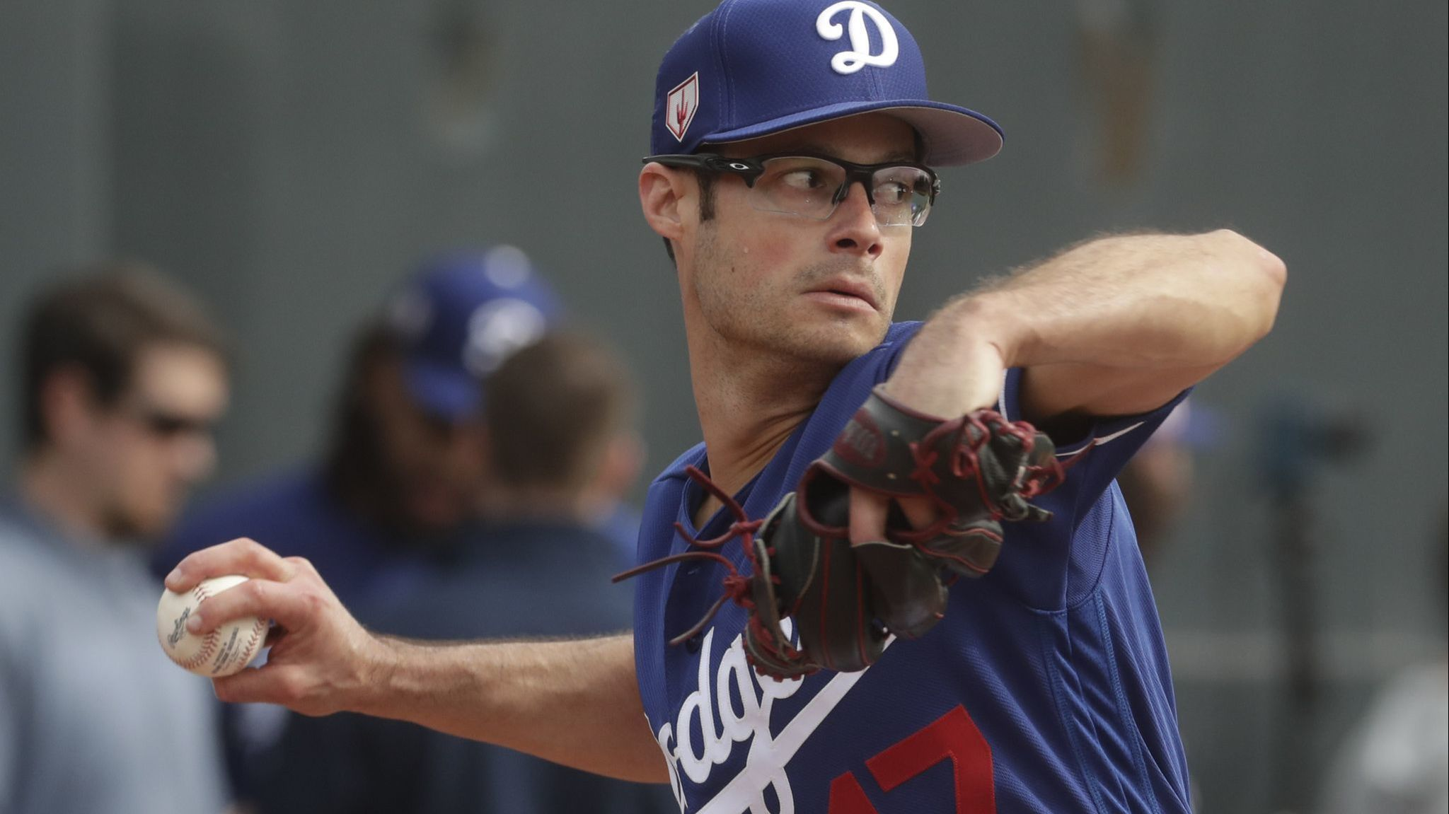 Dad's a Dodger, but Joe Kelly's son is still a Mookie Betts fan — and he lets the whole clubhouse know it