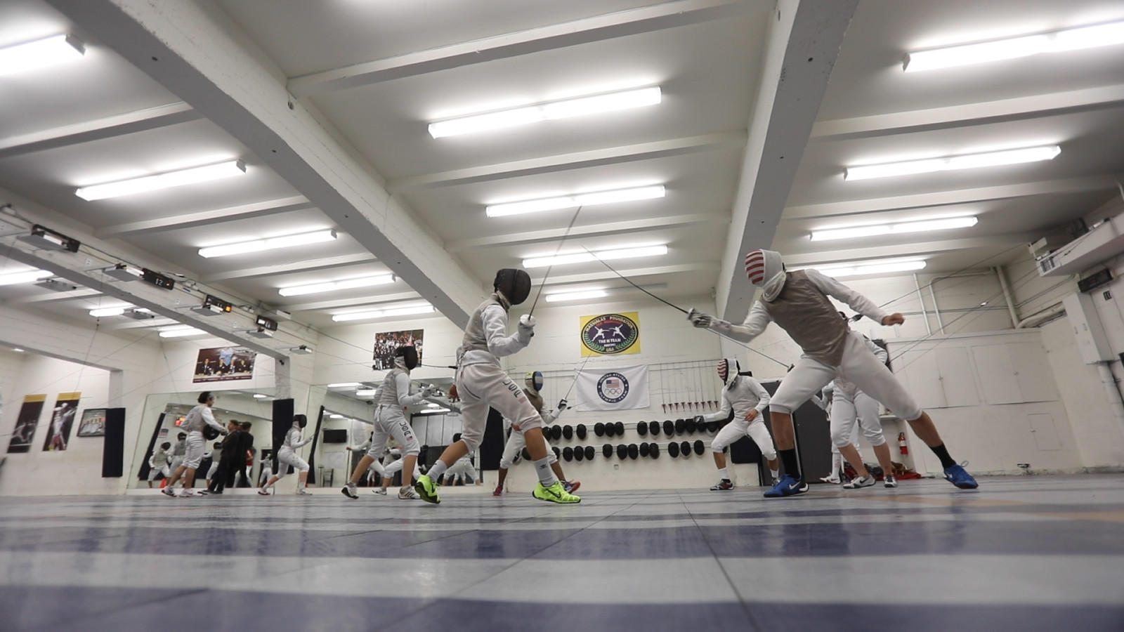 Greg Massialas is patriarch of America's first family of fencing. His target: gold