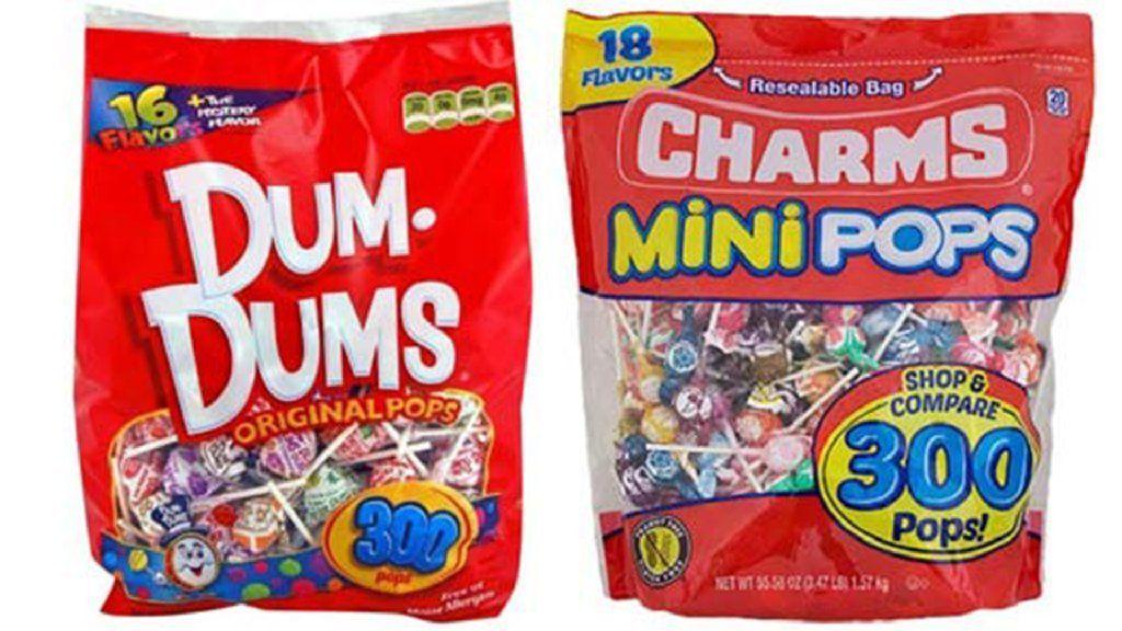 The lollipop wars: Dum-Dums forces Charms Mini Pops to drop — for now — 'confusingly similar' package