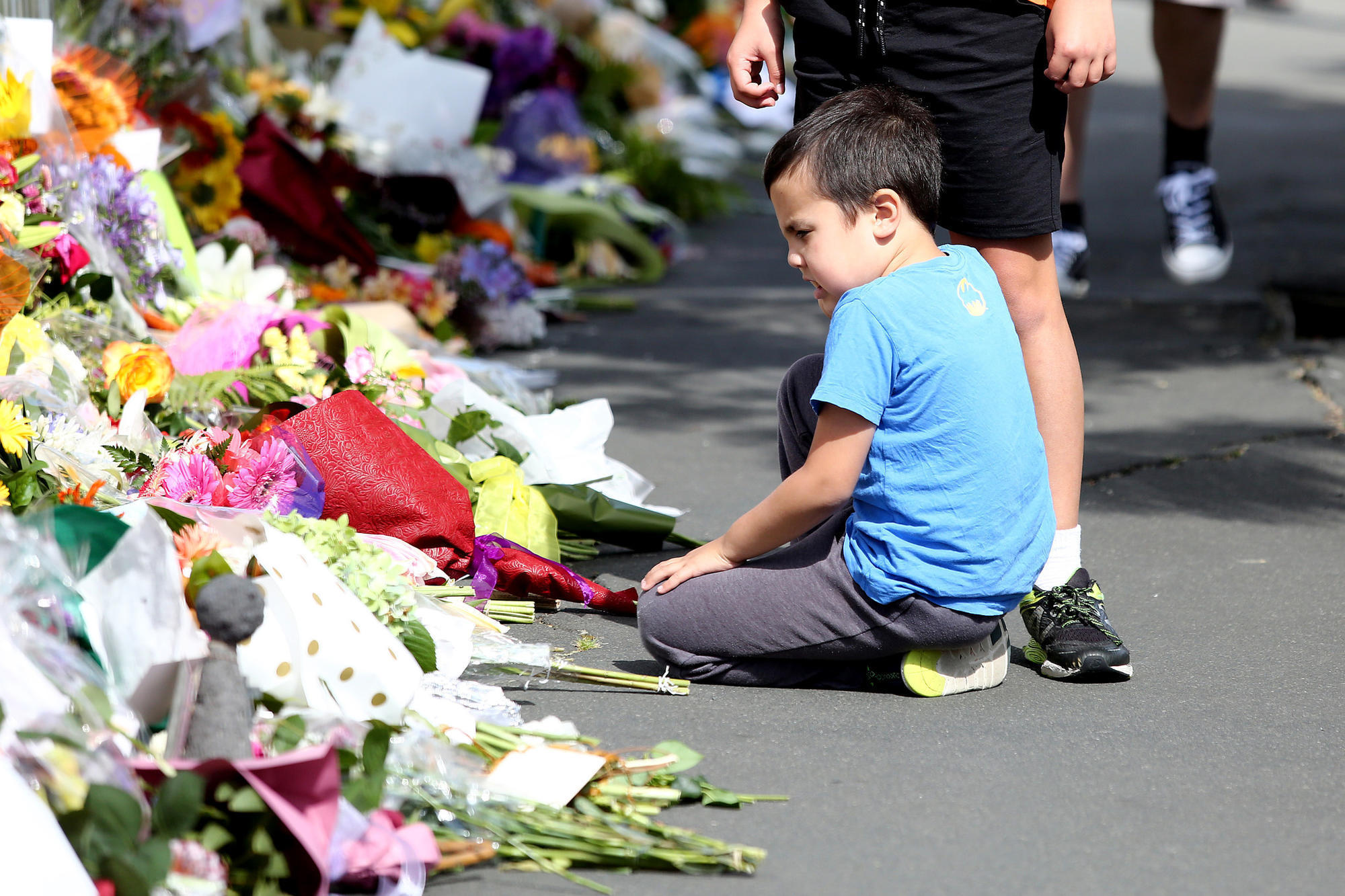 Terrorist attacks on New Zealand mosques kill 49; suspect charged with murder