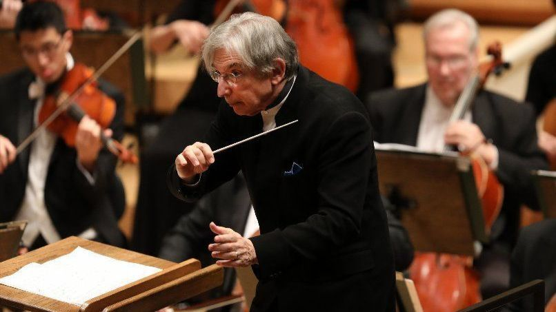 Conductor Michael Tilson Thomas, 74, is at crossroads