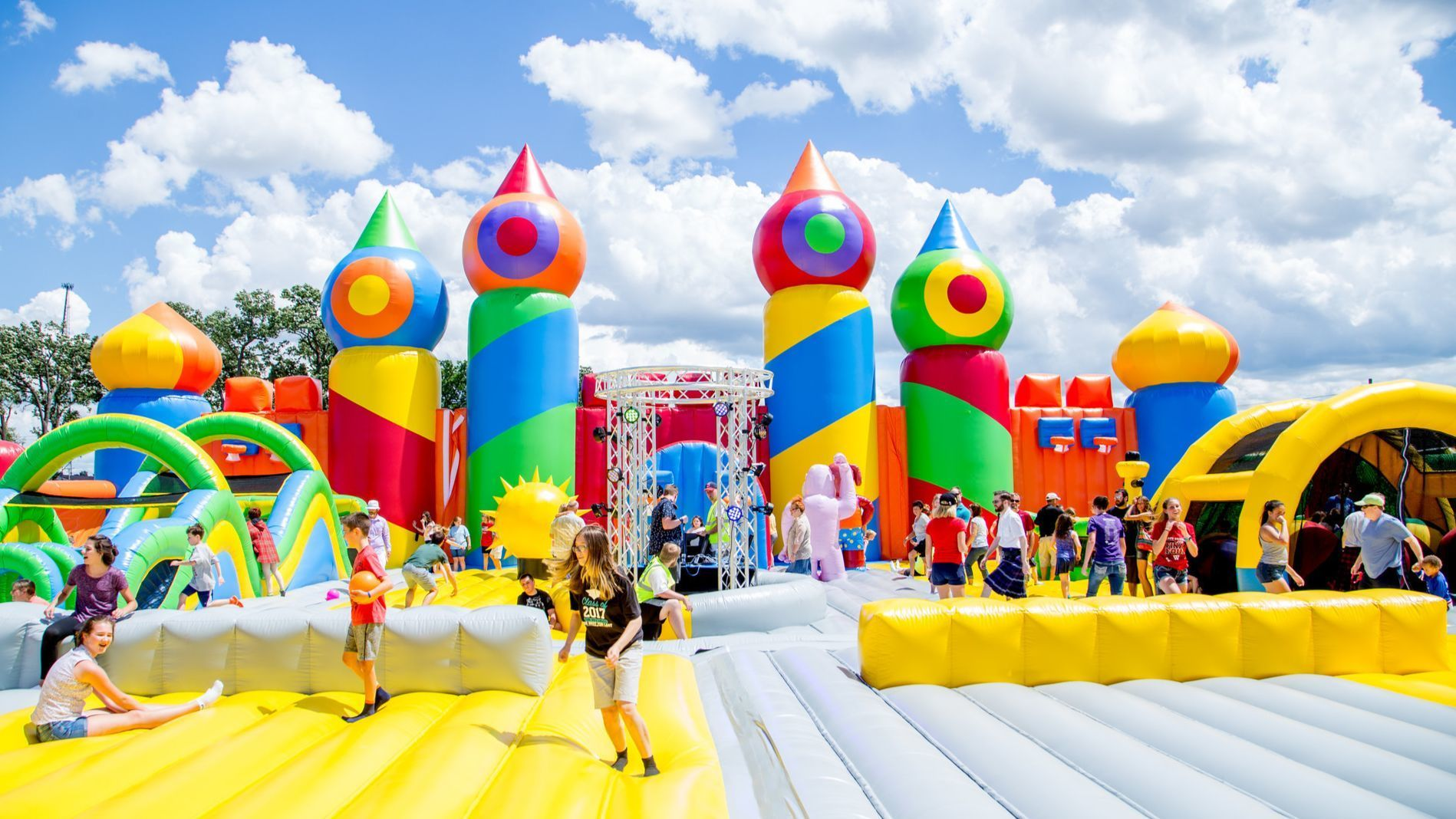 World's biggest bounce house coming to Boca Raton and Miramar, and even adults are invited
