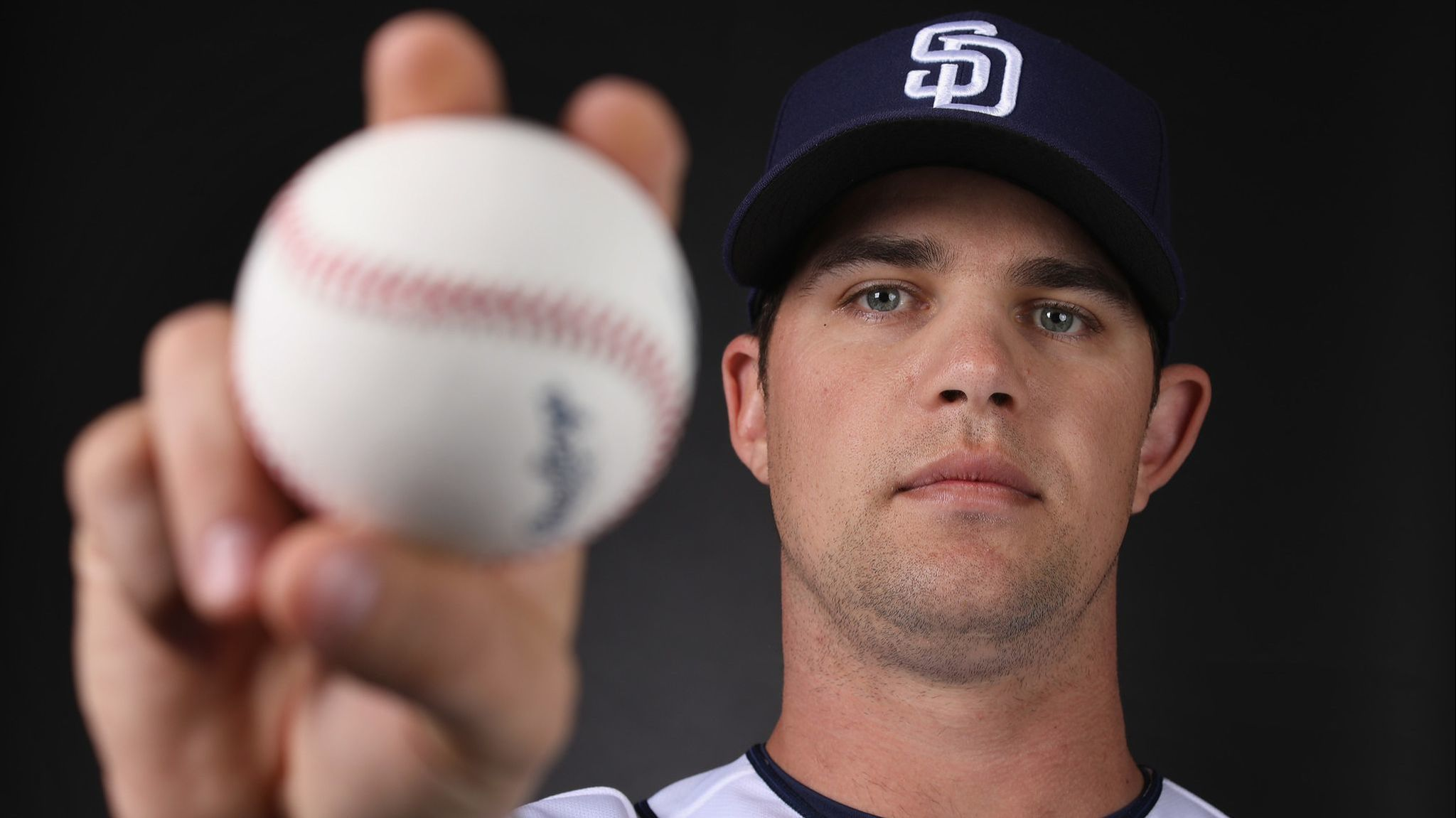 Padres' Stock finds plate, pushes limits