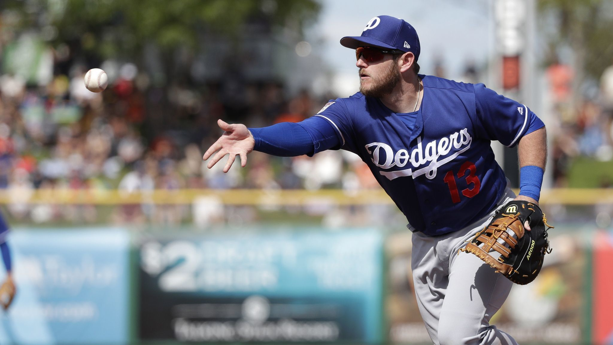 Dodgers lose 3-1 to Rangers in exhibition game