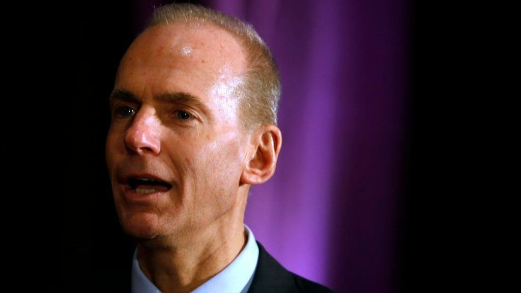 Boeing CEO: 'We know lives depend on the work we do'