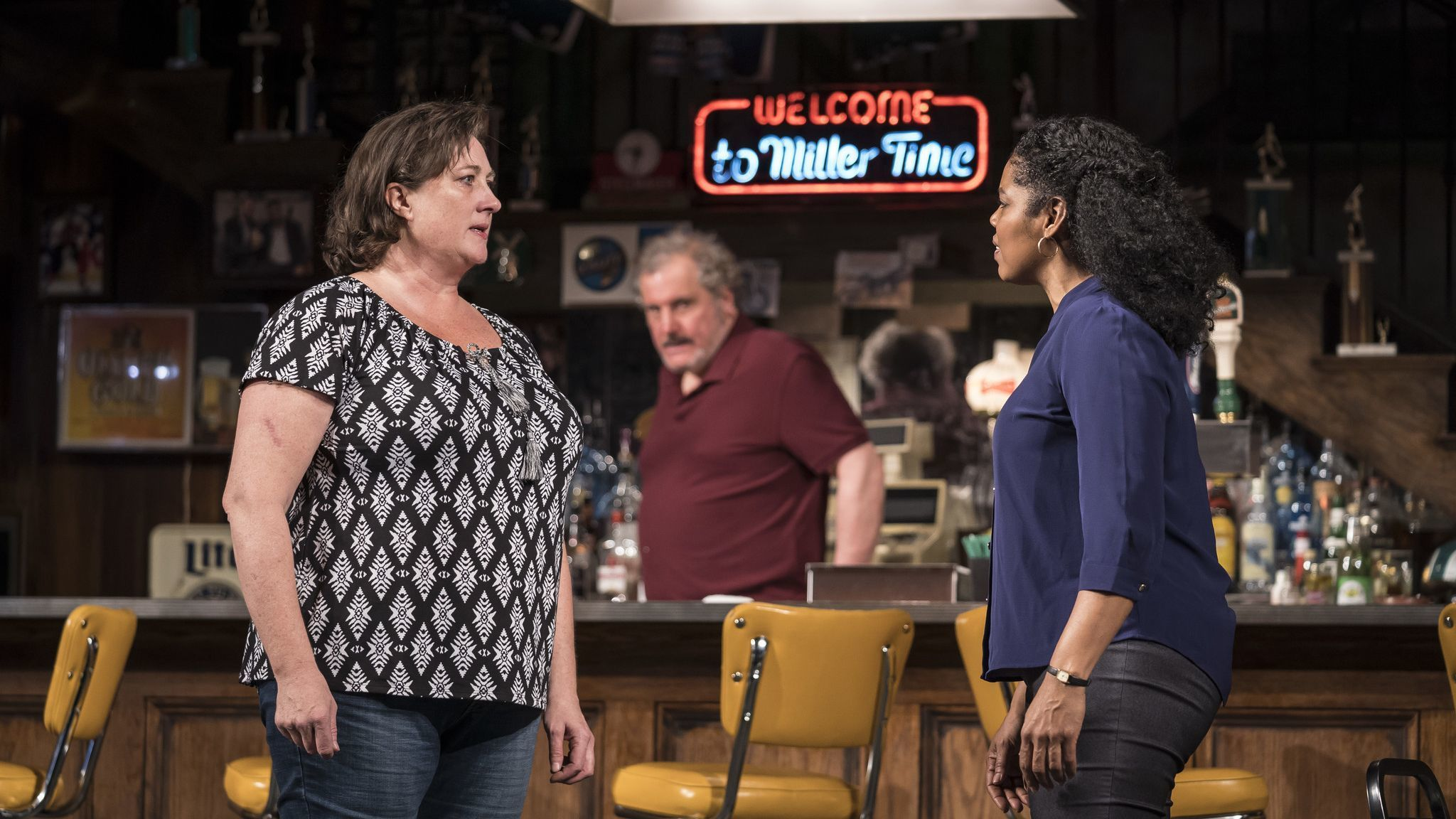 'Sweat' at Goodman Theatre: Lynn Nottage's Pulitzer winner set in a factory town is now in Chicago — and better than Broadway's