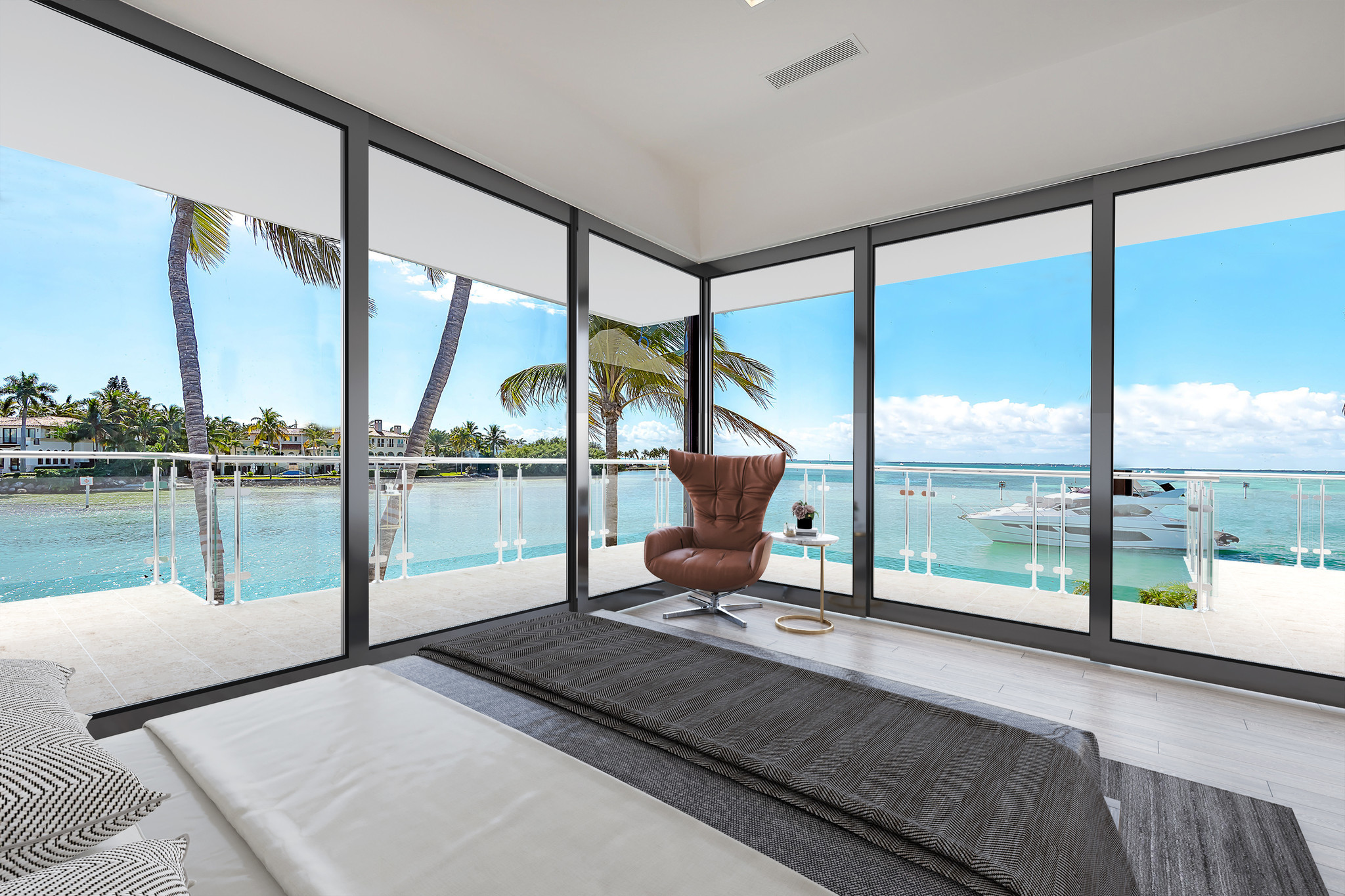 $25 million Key Biscayne dream home might really float your boat