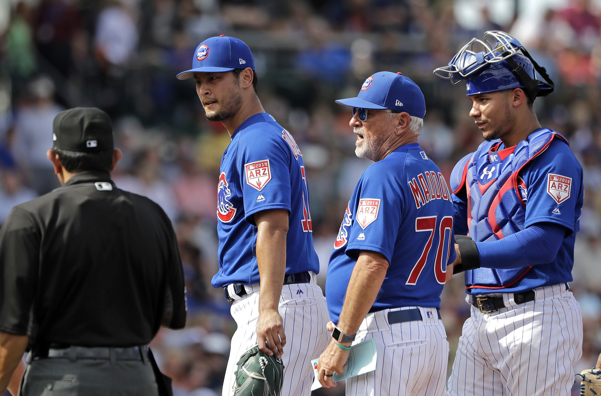 Spring training: Cubs 6, Mariners 4