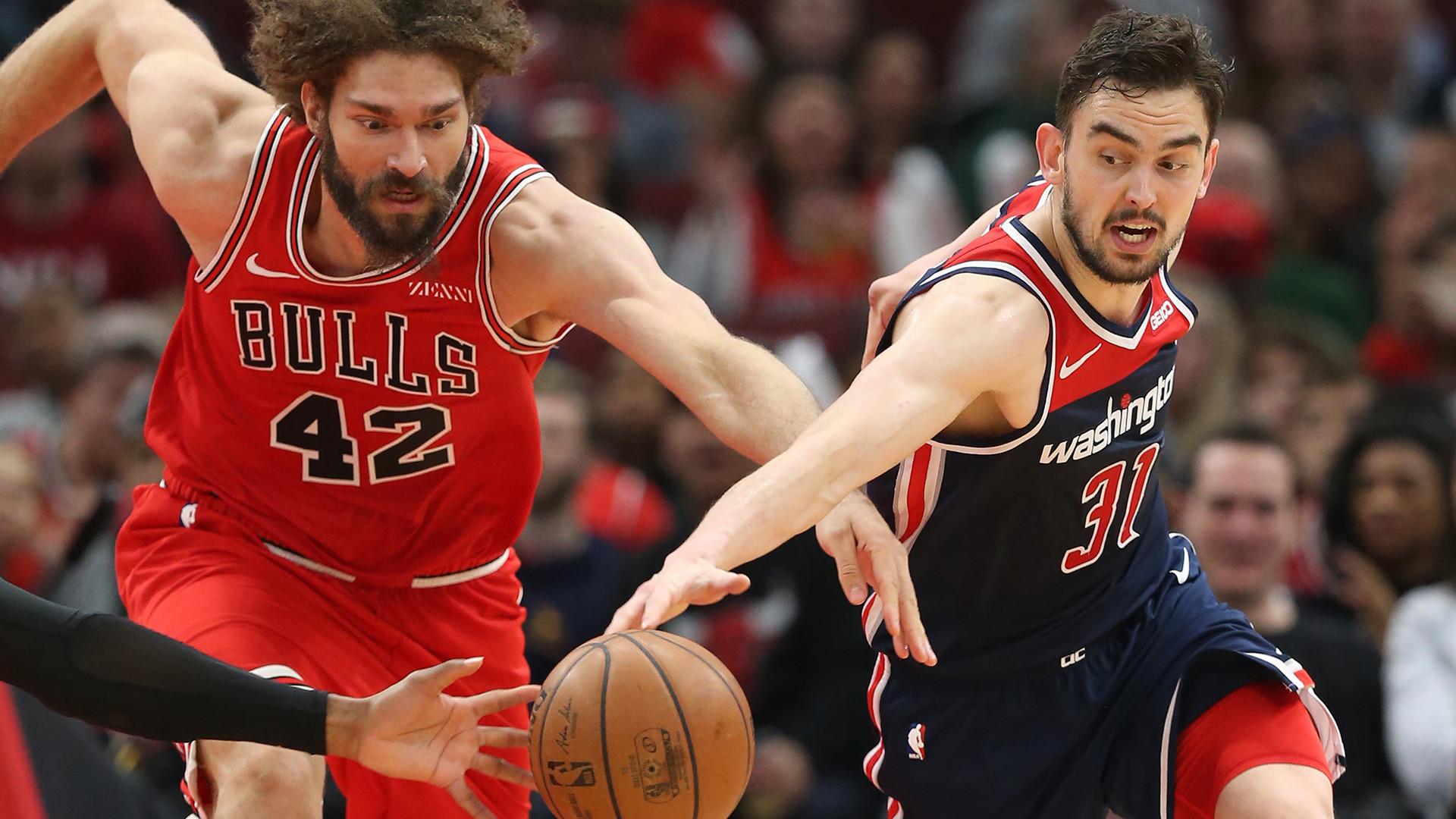 Bulls 126, Wizards 120 (OT)
