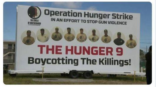 'Boycotting the killings': South Florida men on hunger strike against gun violence