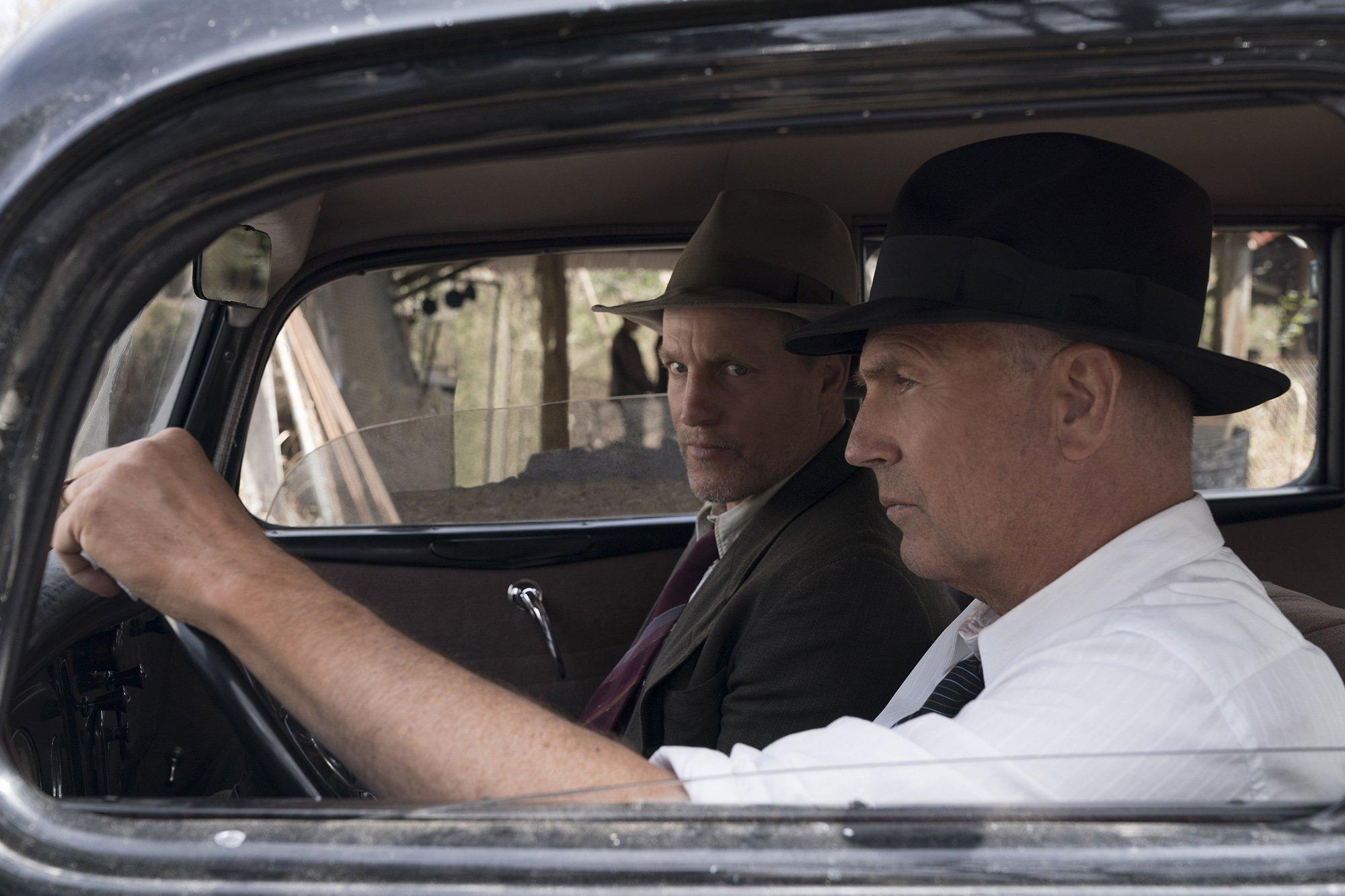 'The Highwaymen' review: Woody Harrelson, Kevin Costner confront the cost of Bonnie and Clyde's violence
