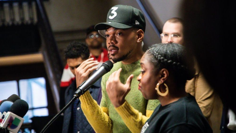 Chance the Rapper: 'I don't have any more money for Chicago politics,' as he backs Toni Preckwinkle for mayor