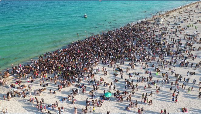 'This is not a place where anything goes': Miami Beach starts crackdown on rowdy spring break