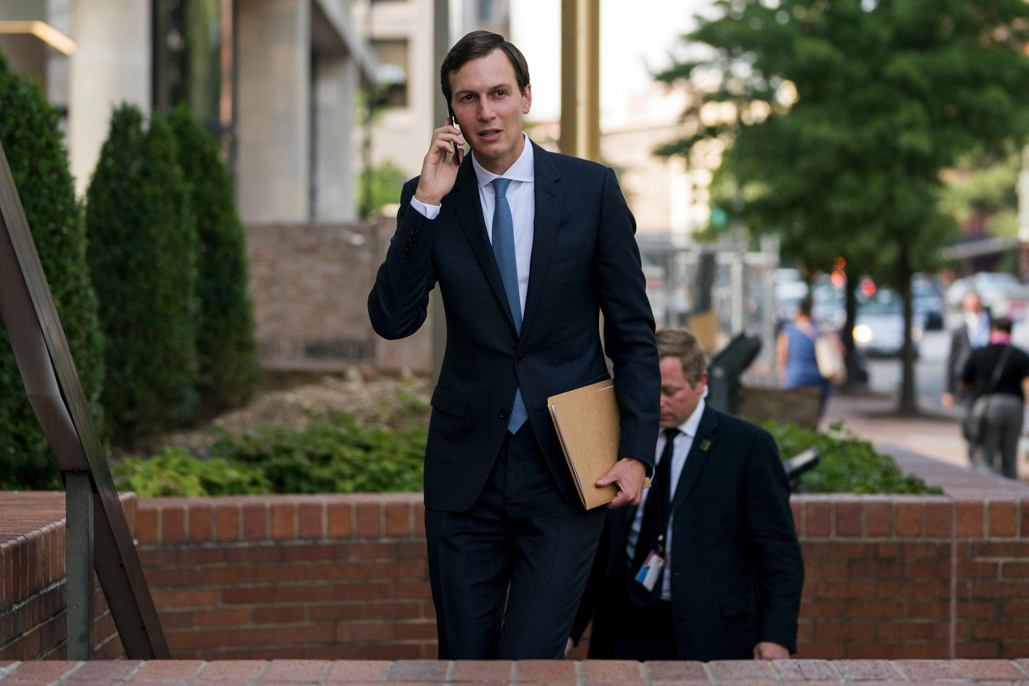 Jared Kushner uses WhatsApp for official business, Democrat says aide's lawyer told him