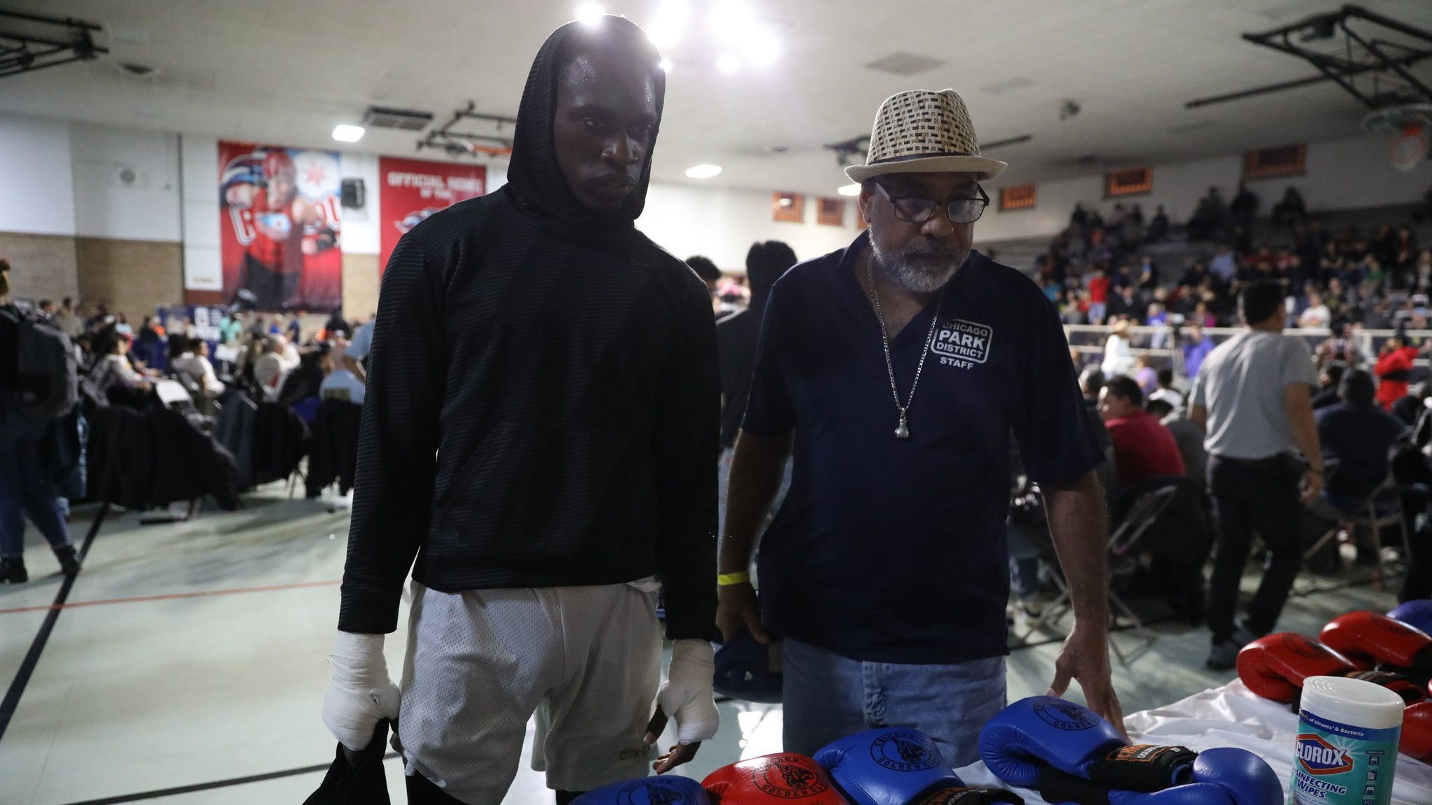 Brother in Smollett case competes in Golden Glove semifinal
